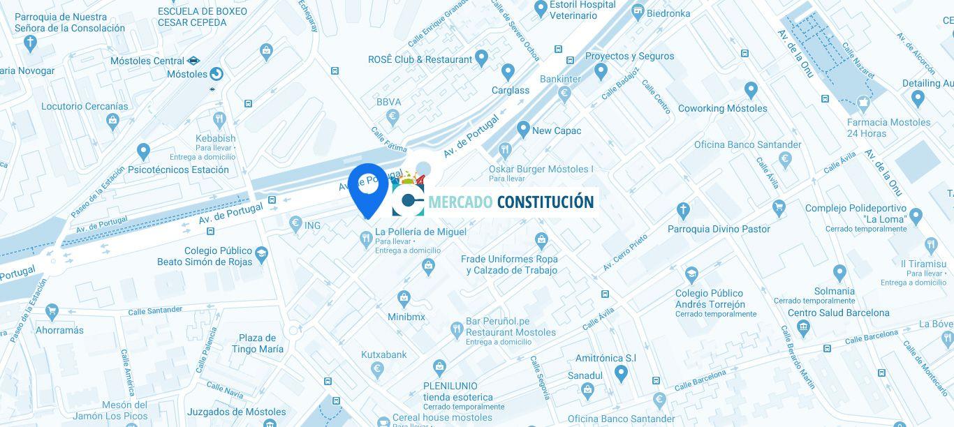 Mapa Mercado Constitución